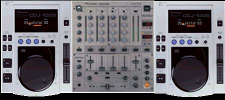 DJ Set huren; CDJ100 DJM700