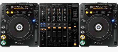 Verhuur DJ Set CDJ1000 DJM800