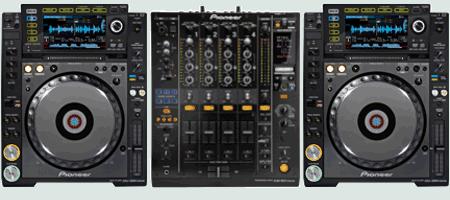 DJ Set huren; CDJ2000 nexus DJM900 nexus