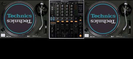Verhuur Technics SL1200 DJM800