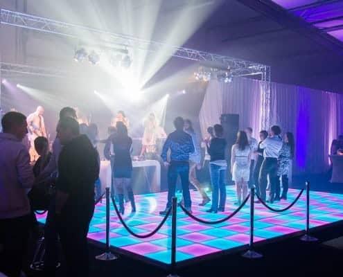 Licht en geluid verhuur voor het personeelsfeest Enercon