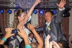 Bruiloft met DJ bij Marquette Heemskerk