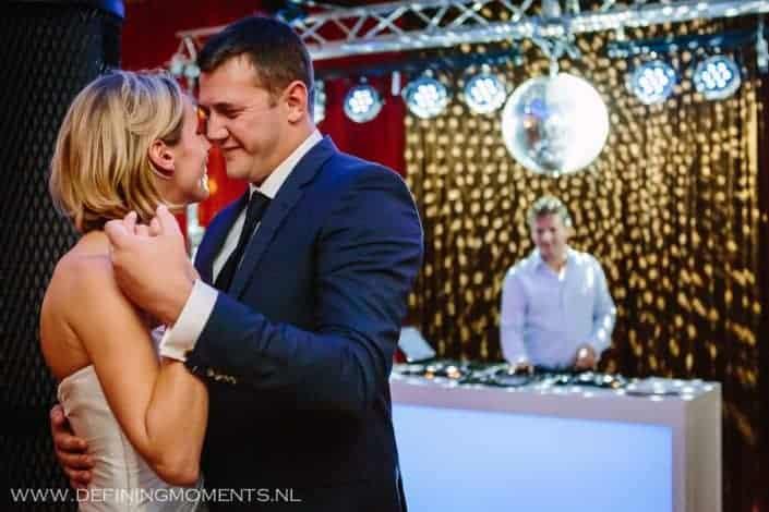 Bruiloft met DJ bij landgoed groenendaal heemstede