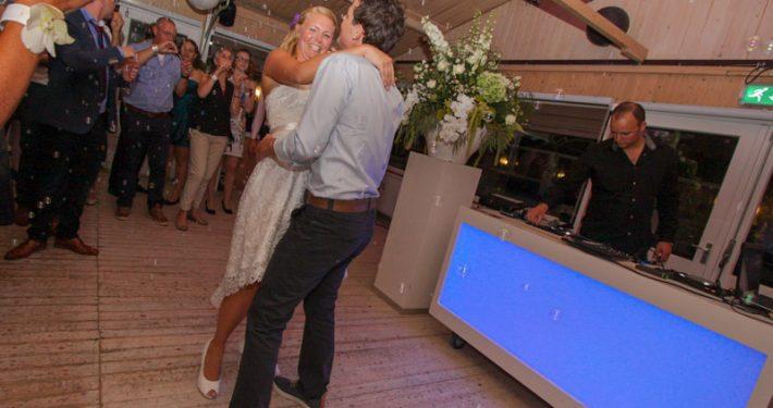Bruiloft Arjan en Jody Bij de SunSeaBar wijk aan Zee