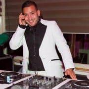 DJ nieuwjaarsreceptie
