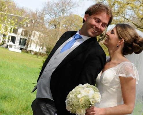 Reactie van Pieter en Marlous over hun bruiloftsfeest.