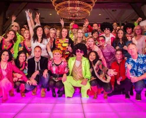 Thema disco personeelsfeest