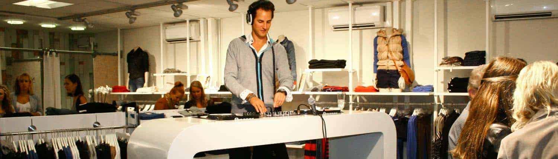 DJ huren voor personeelsfeest, bruiloft of winkel opening