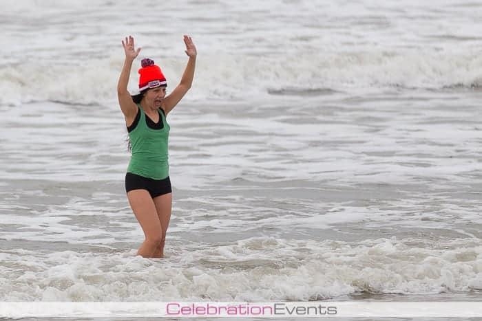 Nieuwjaarsduik 2014 Wijk aan zee