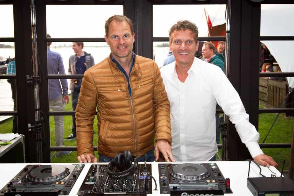 Personeelsfeest met DJ Gilbert bij Ajax