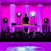 Drive in show inclusief verlichte dansvloer huren