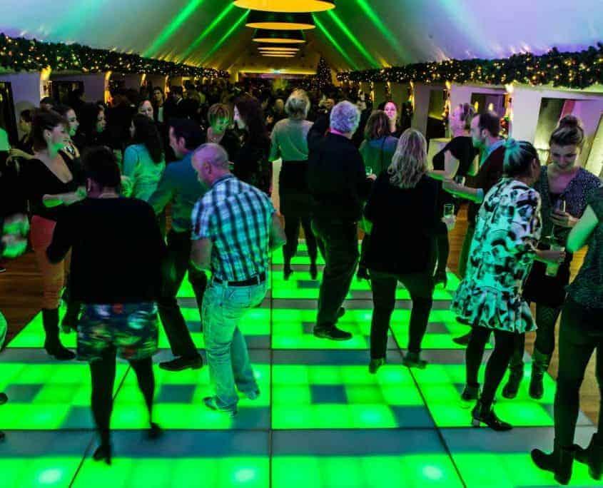 Personeelsfeest met DJ bij Heineken
