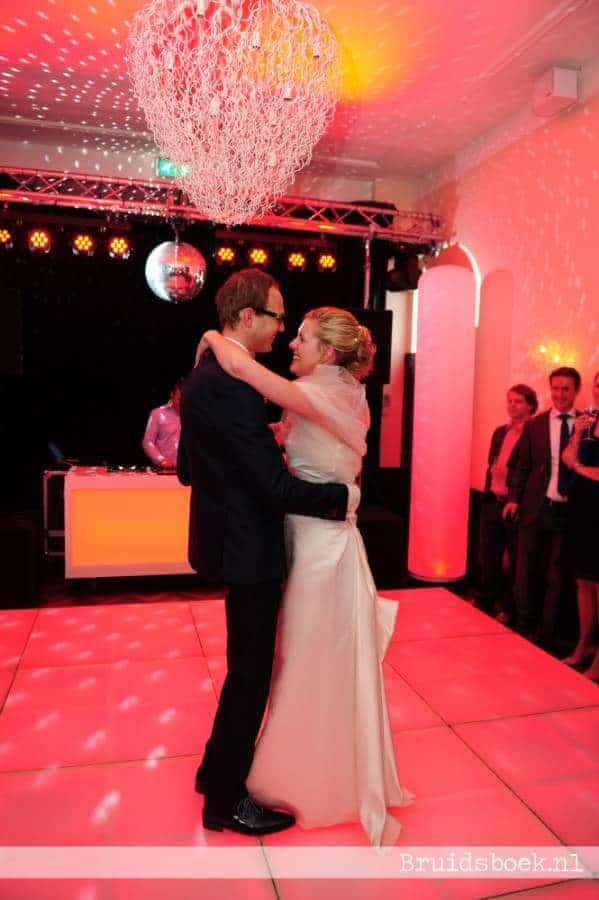 Bruidspaar bij Te Werve