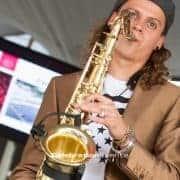 Saxofonist - Personeelsfeest AJAX