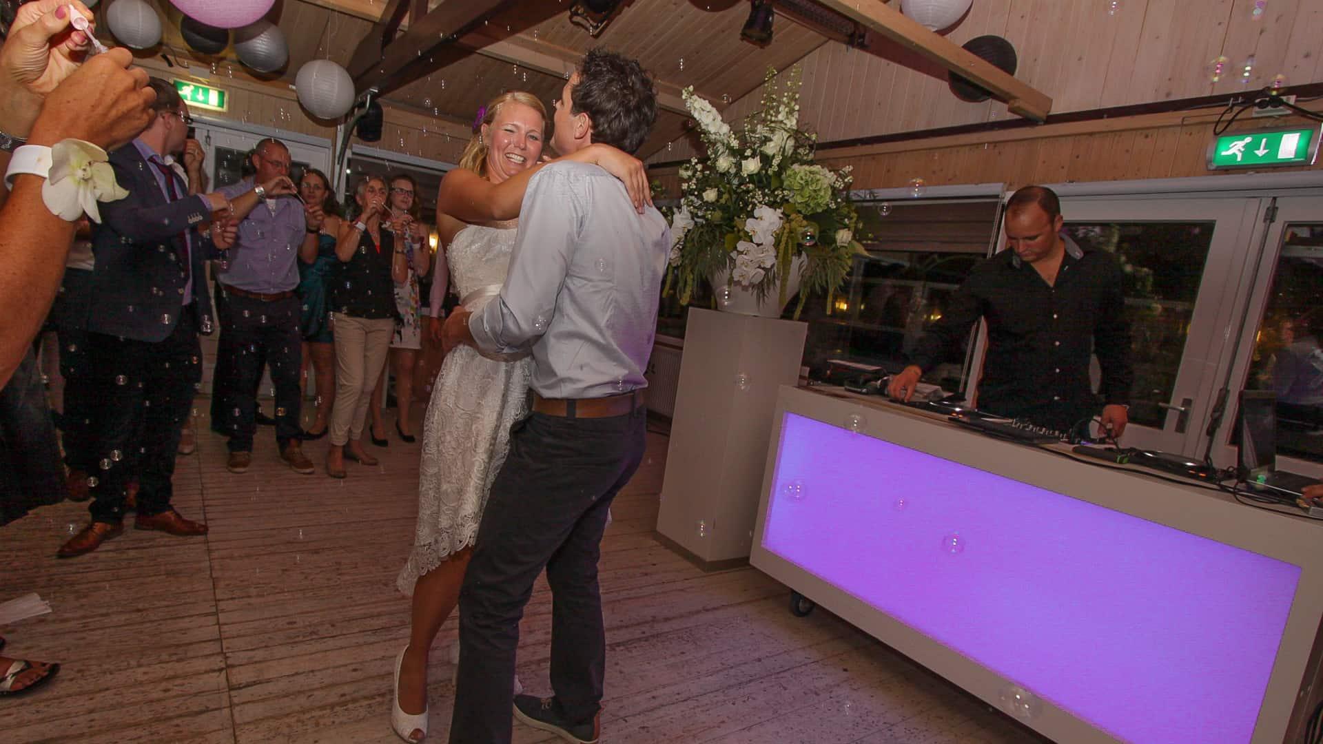 Bruiloft Sunseabar - Arjan en Jody.