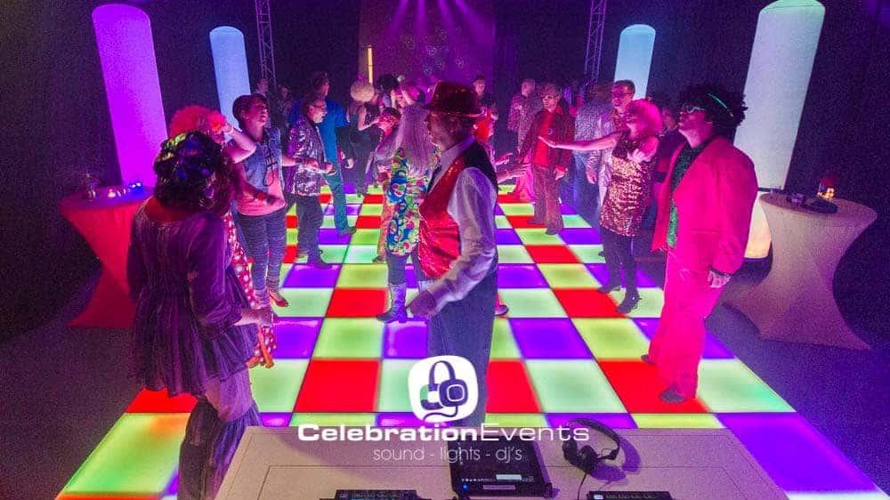 Verlichte dansvloer huren inclusief drive-in show
