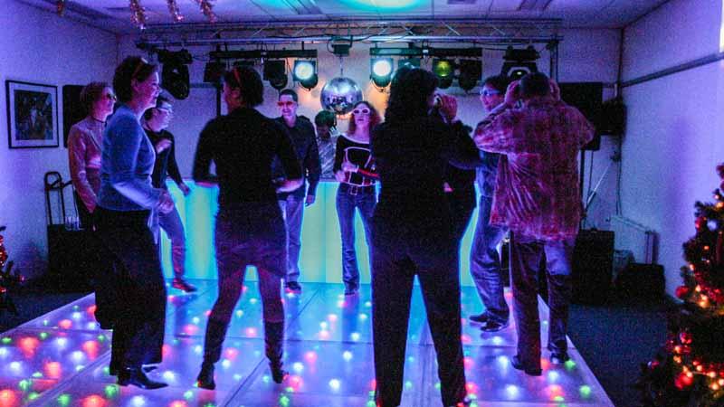 Personeelsfeest Themafeest Disco