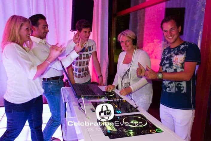 Personeelsfeest met DJ Workshop