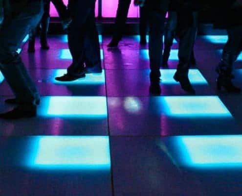 Lichtgevende dansvloer huren - CelebrationEvents