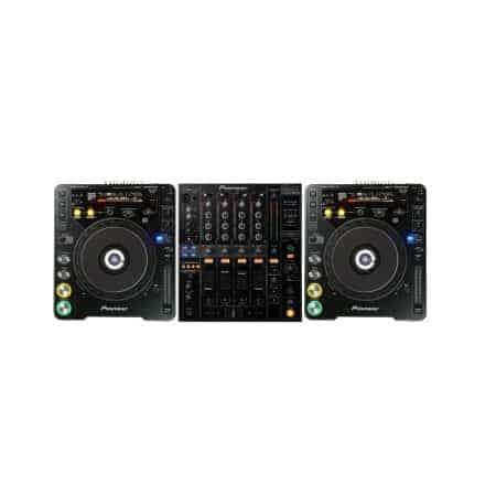 Pioneer DJ set huren CDJ1000 DJM800