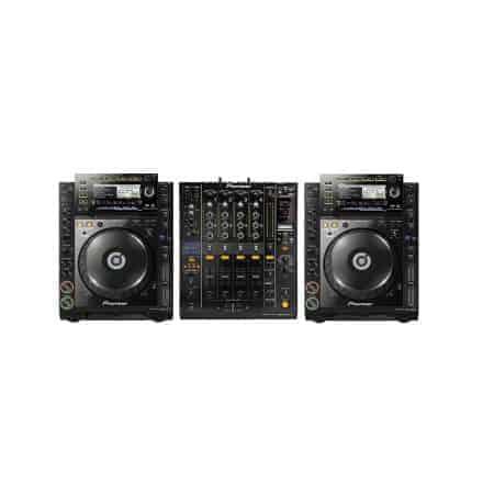 Pioneer DJ set huren CDJ2000 nexus DJM900
