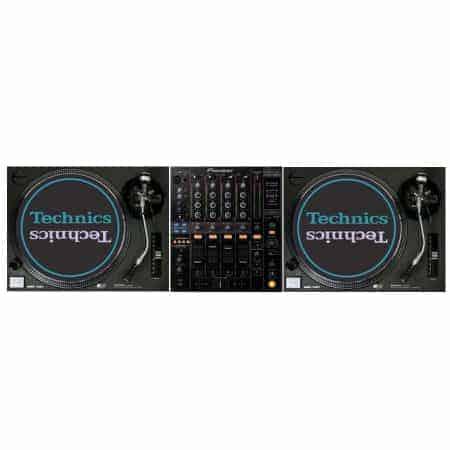 Technics SL1210 DJ set huren