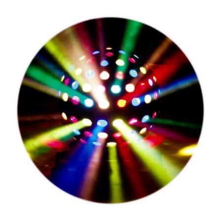 Verhuur Showtec sunraise Spiegelbol effect