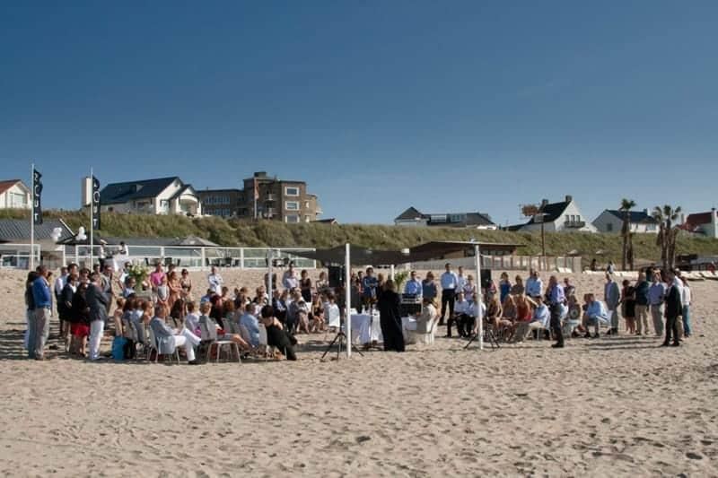 Bruiloft Strandpaviljoen Zout Zandvoort