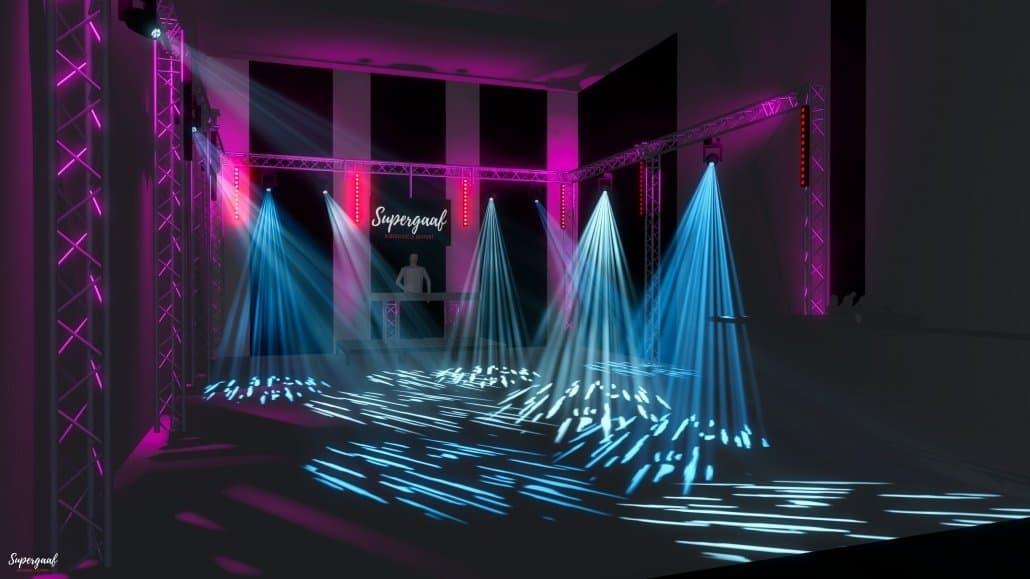 3d ontwerp Sweet 18 feest - Orangerie Elswout