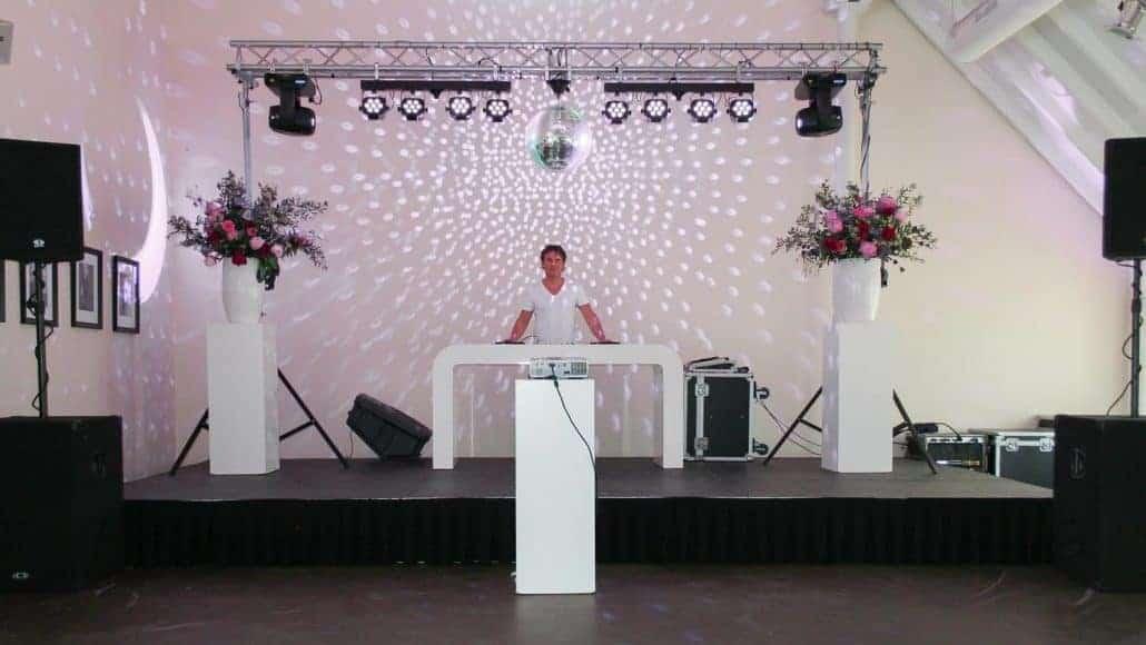DJ op Bruiloft Paardenburg oudenkerk