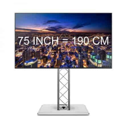 75 inch hd tv huren