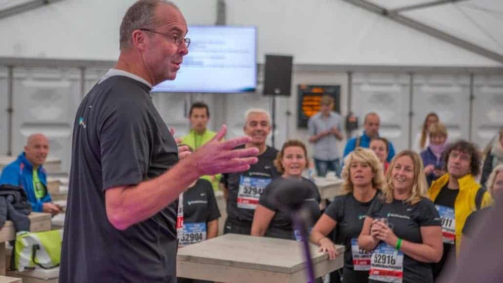 ABN AMRO techniek runnershome marathon van Amsterdam