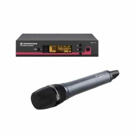Draadloze handheld microfoon Sennheiser huren
