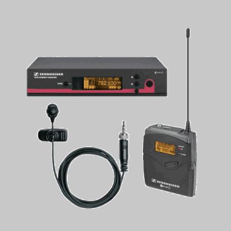 Draadloze revers microfoon Sennheiser MKE2