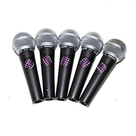 Kabel microfoons