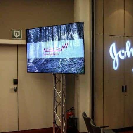 Verhuur 75 inch LED tv voor presentatie
