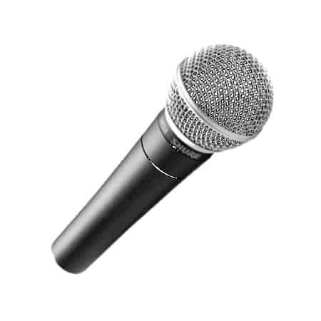 Verhuur Shure SM58 microfoon