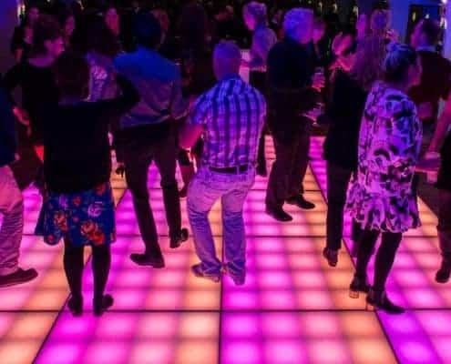 Matrix verlichte dansvloer