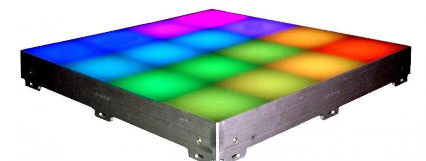Matrix verlichte led dansvloer