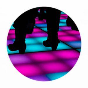 Verhuur LED dansvloer met matrix