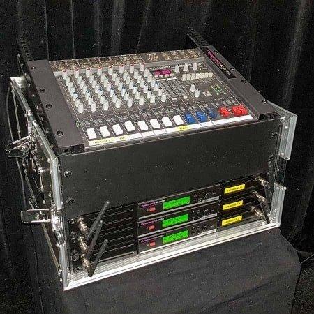 Presentatie set met 3 draadloze microfoons