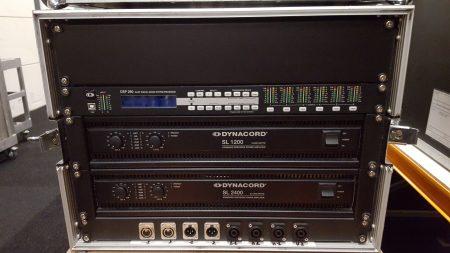 Dynacord SL1200/SL2400 Versterrack