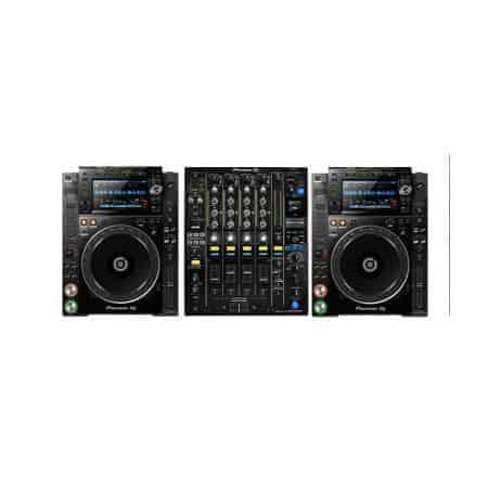 Verhuur Pioneer set CDJ2000NXS2 + DJM900NXS2