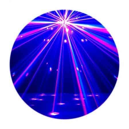 ADJ LED Starburst LED Beam Effect spiegelbol lichteffect