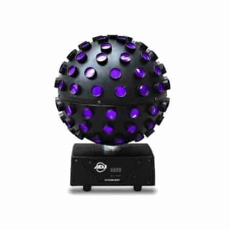 Verhuur stardust spiegelbol lichteffect