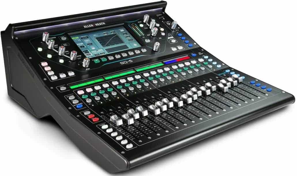 Verhuur Allen & Heath SQ5 mixer