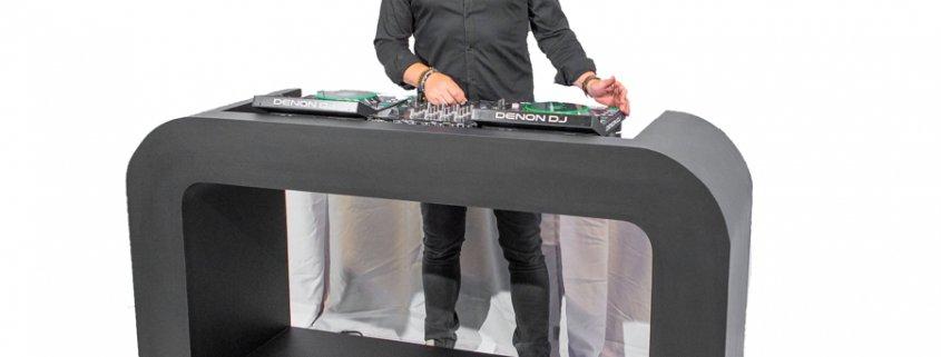 Verhuur DJ meubels