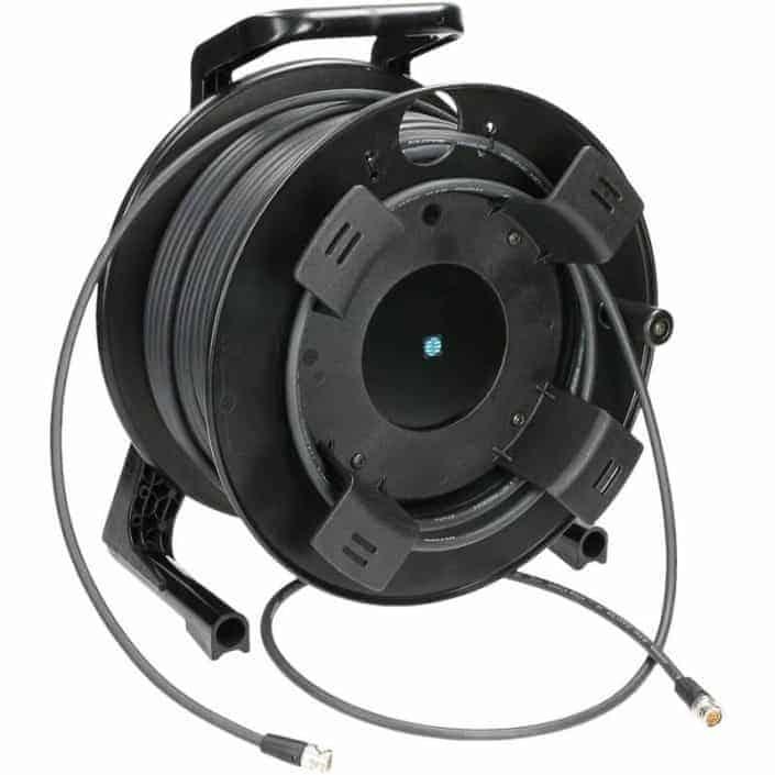 50 meter SDI kabels haspel verhuur