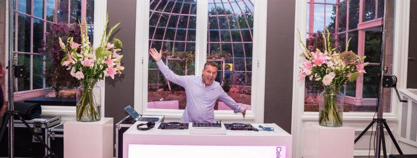 DJ-Gilbert bij Orangerie Elswout Overveen