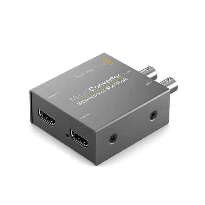 Verhuur Blackmagic design micro converter bidirectioneel